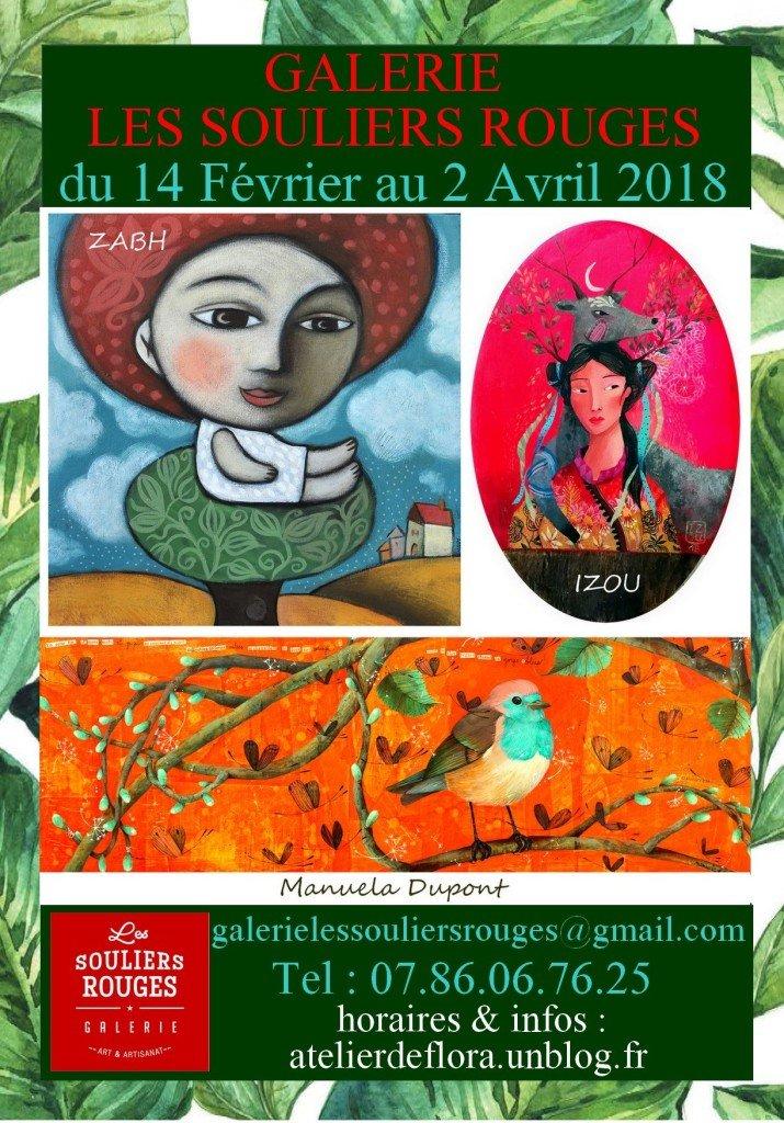 """Exposition """" Sur un arbre perché """" du 14 Février au 2 Avril 2018"""