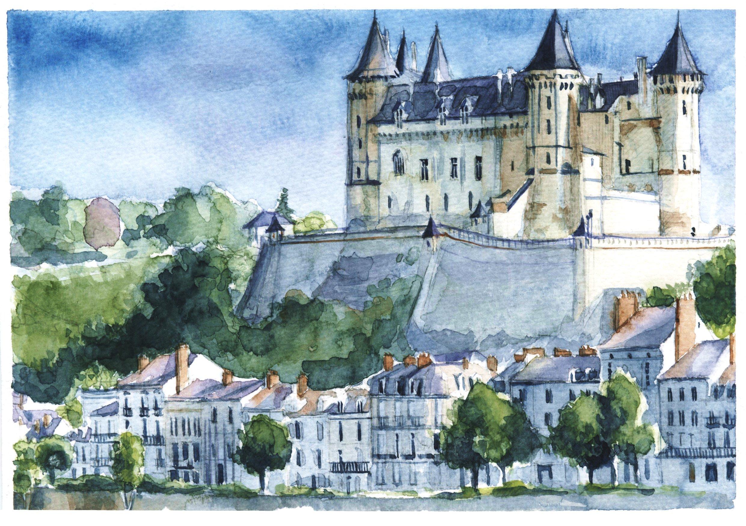 Cha¦éteau de Saumur